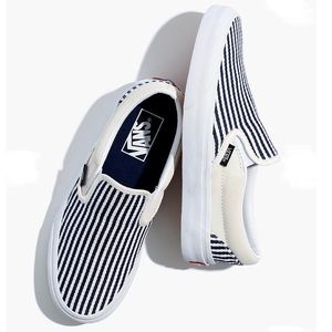 Vans Denim Stripe Classic Slip-On